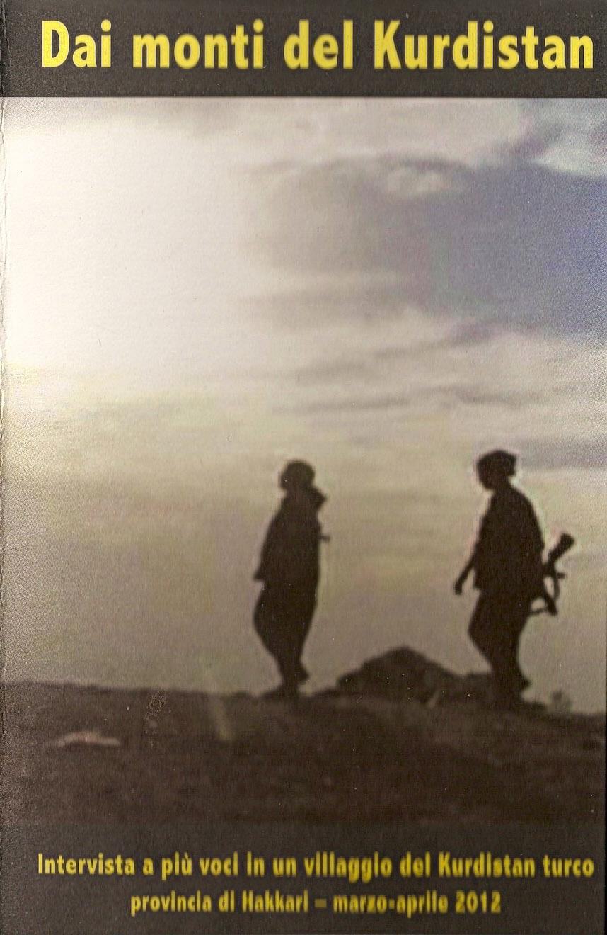 Dai monti del Kurdistan – ed. Alpi libere maggio 2012